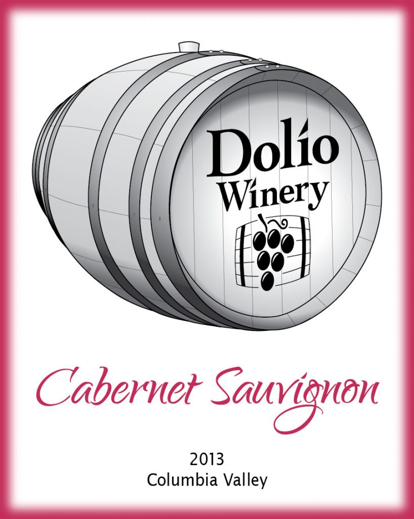 Dolio Winery - 2013 Cabernet Sauvignon label