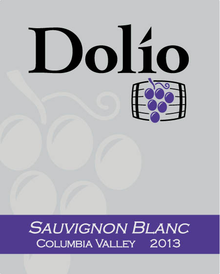 Dolio Winery - 2013 Sauvignon Blanc label