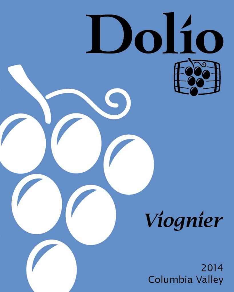 Dolio Winery - 2014 Viognier label