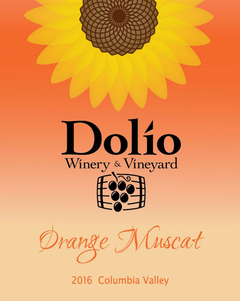 Dolio Winery - 2016 Orange Muscat label