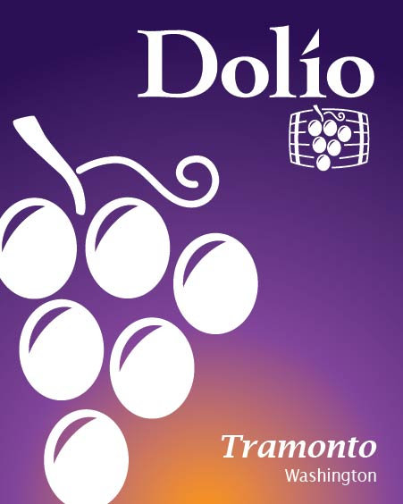 Dolio Winery - Tramonto Rosé blend label