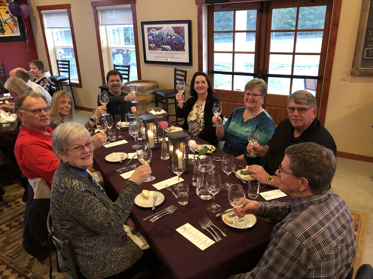 April 13, 2019 WInemaker Dinner at Dolio Winery