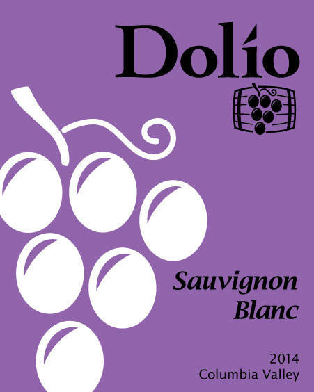 Dolio Winery - 2014 Sauvignon Blanc label