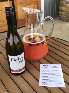 Summer Sangria with Pinot Grigio