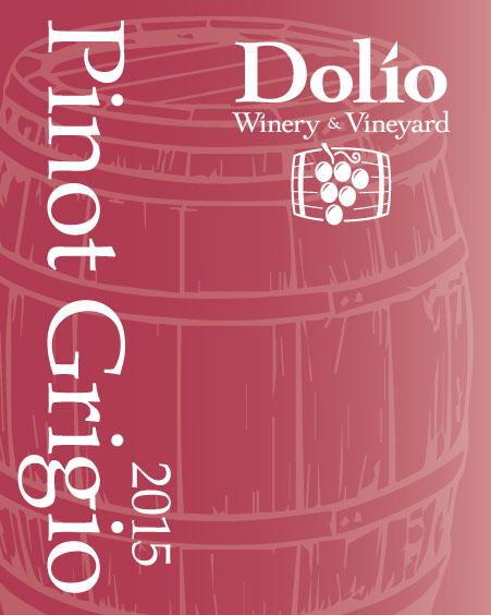 Dolio Winery - 2015 Pinot Grigio