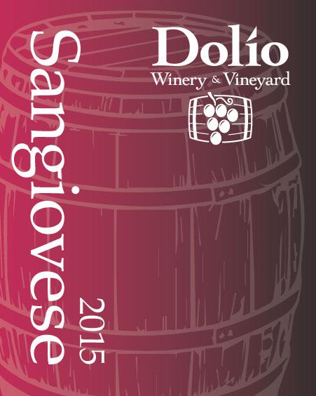 Dolio Winery 2015 Sangiovese
