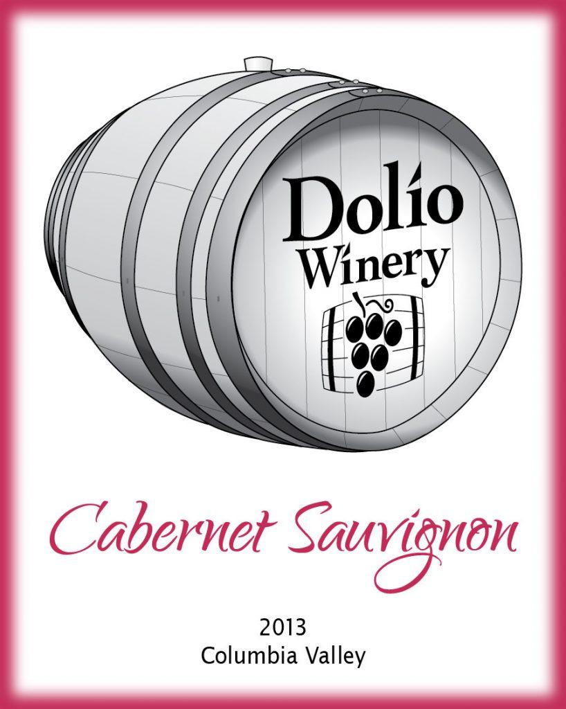 Dolio Winery - 2013 Cabernet Sauvignon label