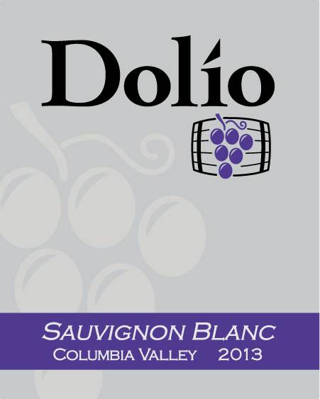 Dolio Winery - 2013 Sauvignon Blanc label