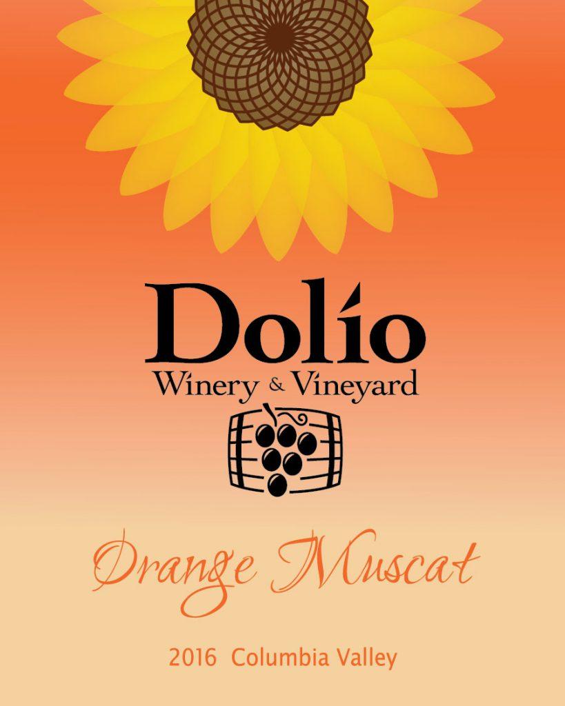 Dolio Winery - 2016 Orange Muscat label