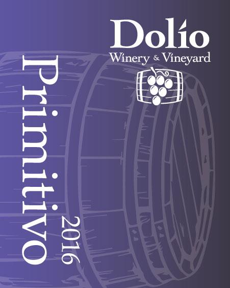 Dolio Winery - 2016 Primitivo label