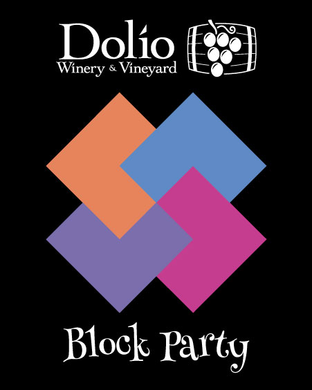 Dolio Winery Block Party red blend of Nebbiolo, Dolcetto, Syrah and Petite Sirah