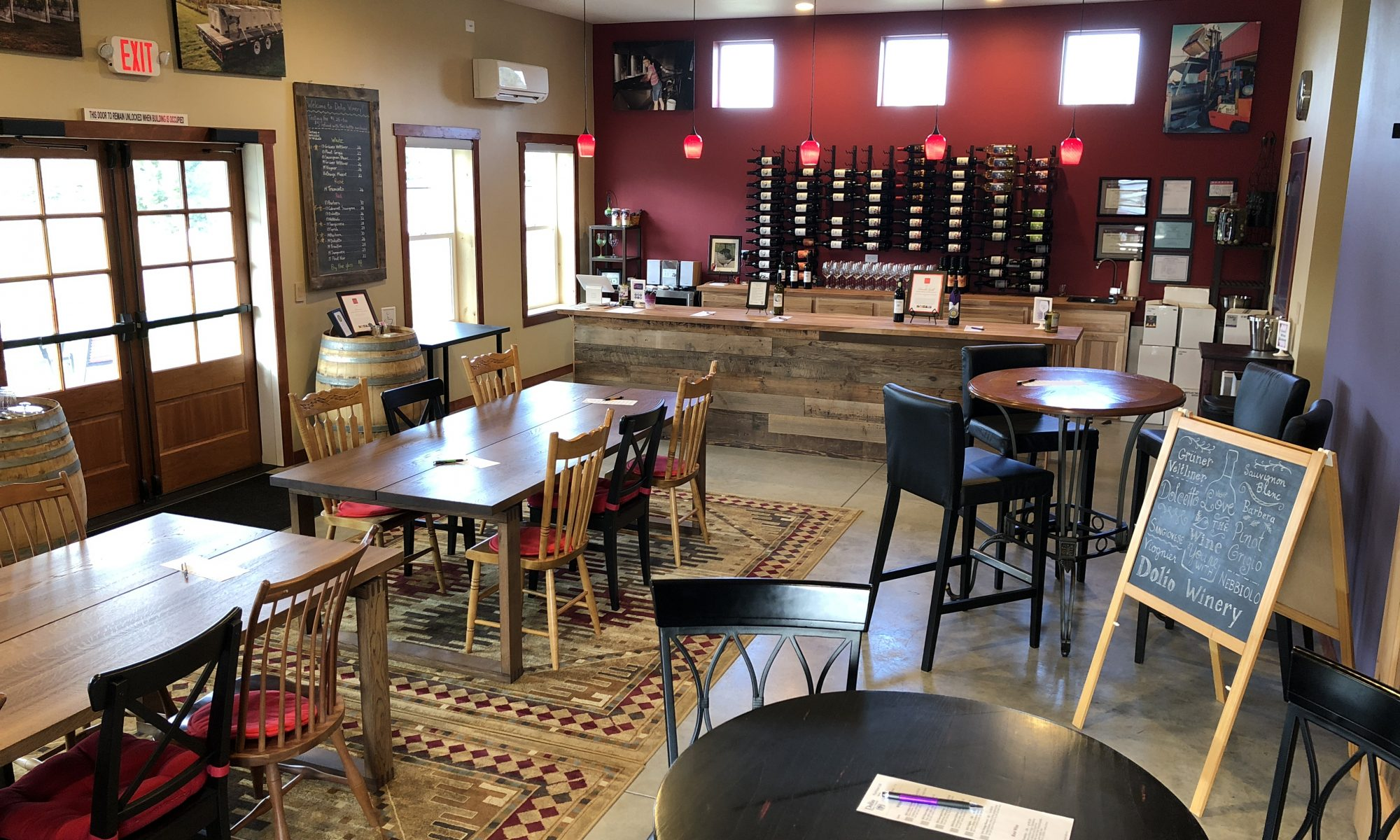 Dolio Winery's tasting room