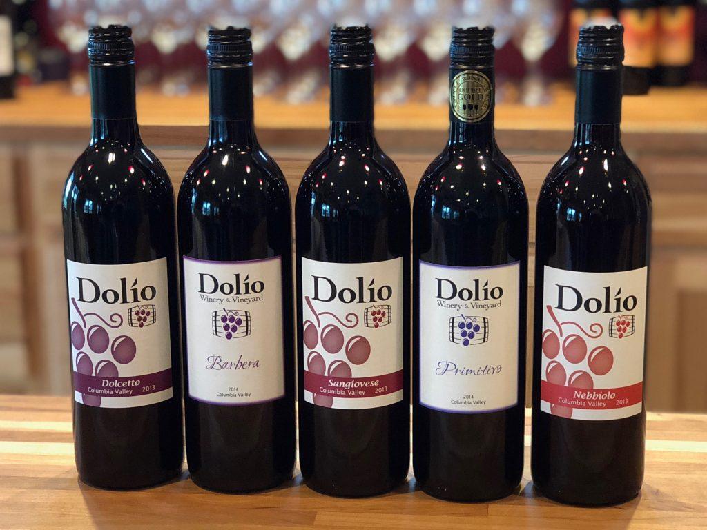 Italian varietals available in the tasting room