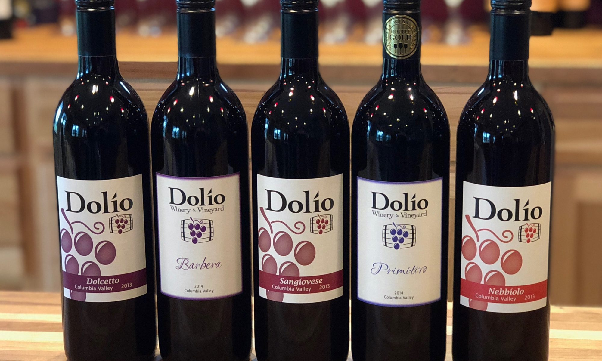 Italian varietals available in the tasting room
