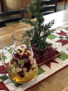 Holiday Sangria featuring Grüner Veltliner