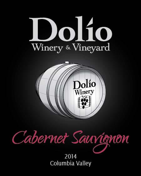 Dolio Winery - 2014 Cabernet Sauvignon label