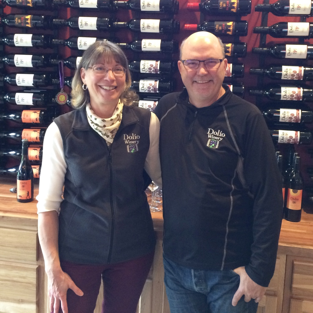 Pam & Don at Dolio Winery