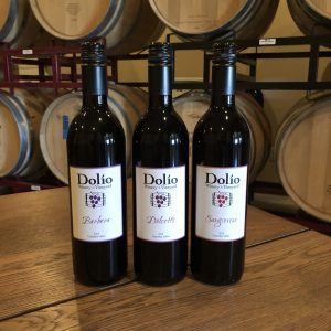 Dolio specially priced Italian Select Package includes 2014 Barbera, 2014 Dolcetto, and 2014 Sangiovese