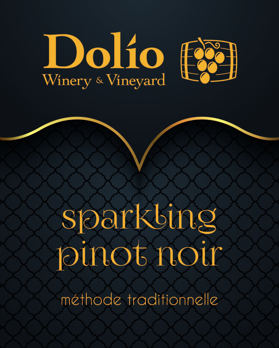Dolio Winery's Sparkling Pinot Noir