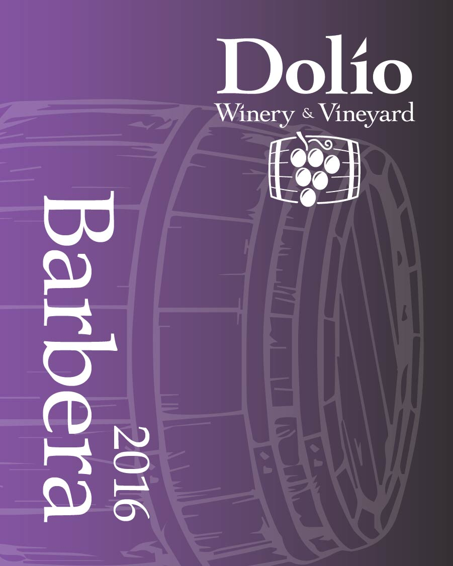 Dolio Winery's 2016 Barbera