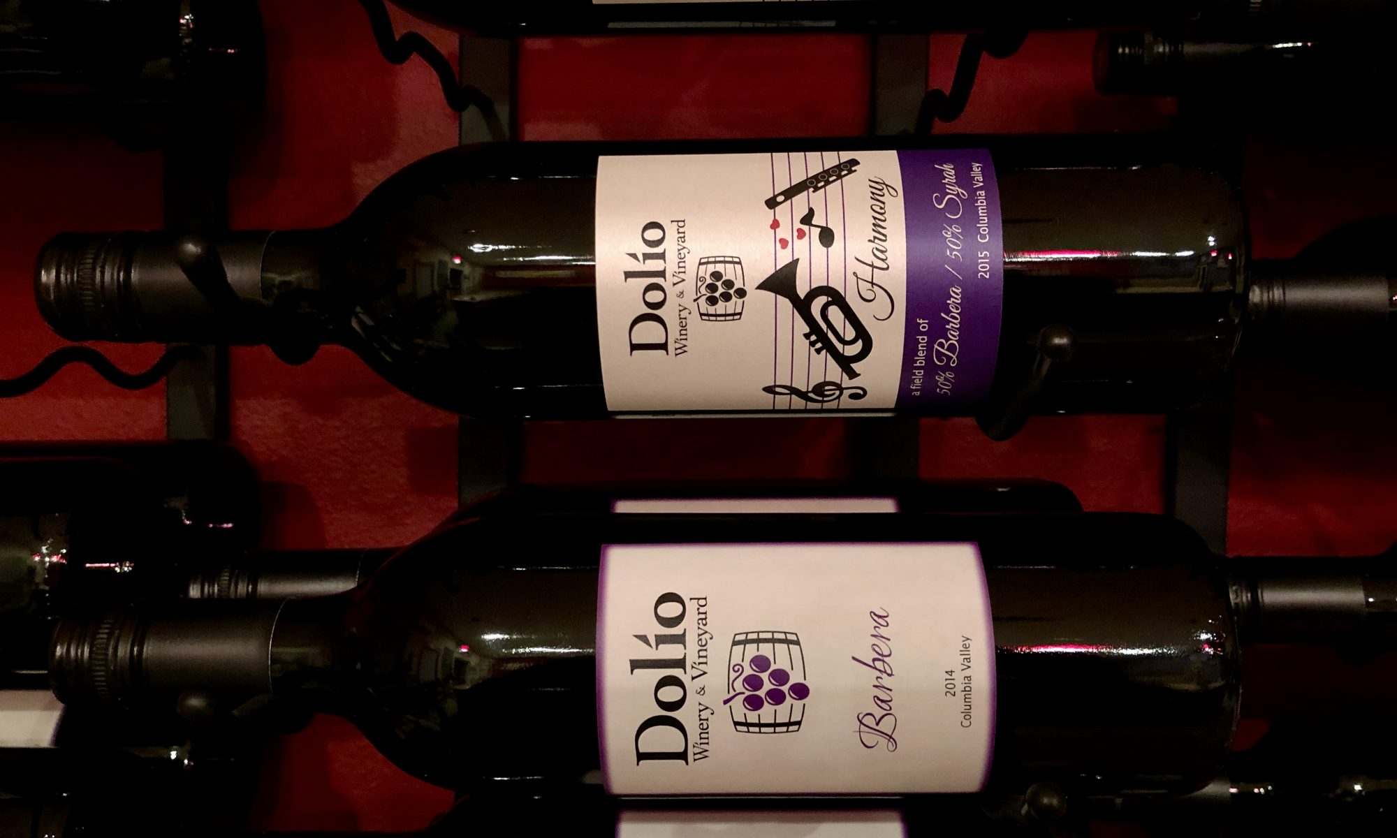 Dolio Winery's Harmony and 2014 Barbera